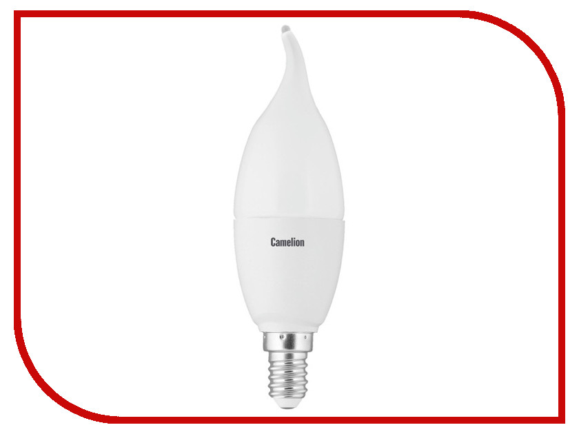 Лампочка Camelion CW35 6.5W 220V E14 3000K 560 Lm LED6.5-CW35/830/E14<br>