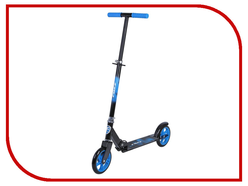 Самокат Novatrack Foxx Black-Blue 180ACG.FOXX.BL5<br>