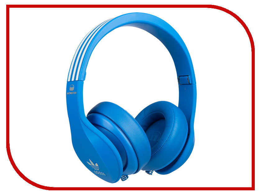Гарнитура Monster Adidas Over-Ear Blue 137011-00 стоимость