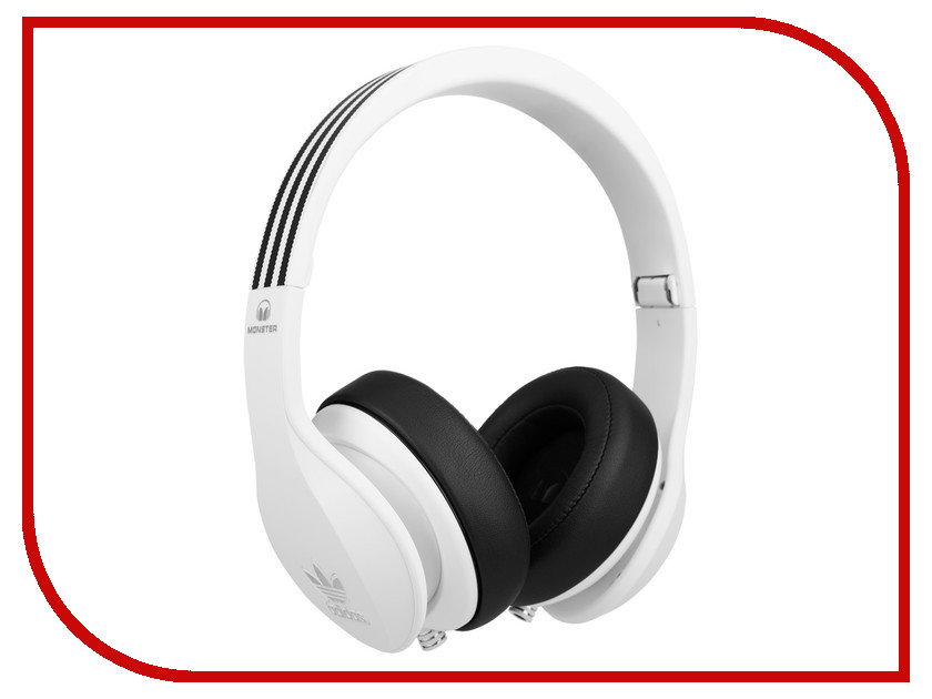 Гарнитура Monster Adidas Over-Ear White 137013-00 стоимость