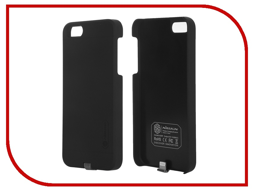 Аксессуар Чехол Nillkin Magic Case Qi для iPhone 5S / SE Black<br>
