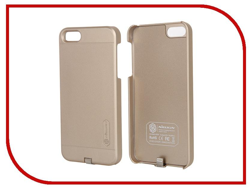 ��������� �����-����������� Nillkin Magic Case ��� iPhone 5S / SE Gold