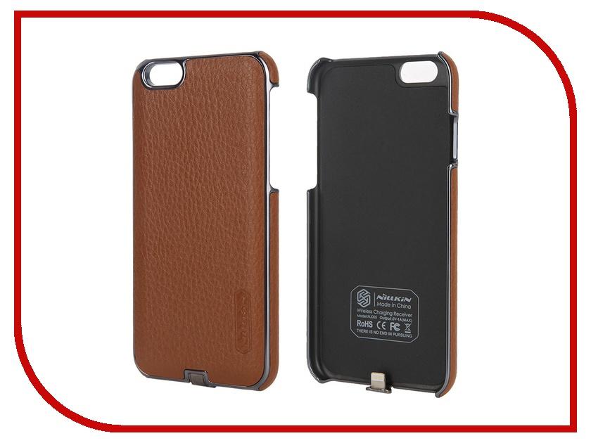 Аксессуар Чехол-аккумулятор Nillkin N-Jarl для iPhone 6 / 6S Brown<br>