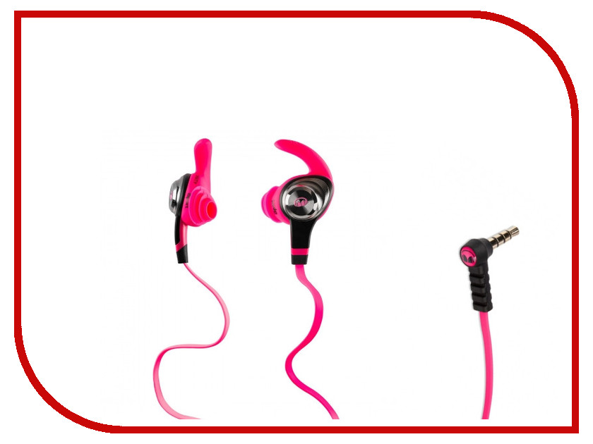 Гарнитура Monster iSport Intensity Pink 137018-00<br>