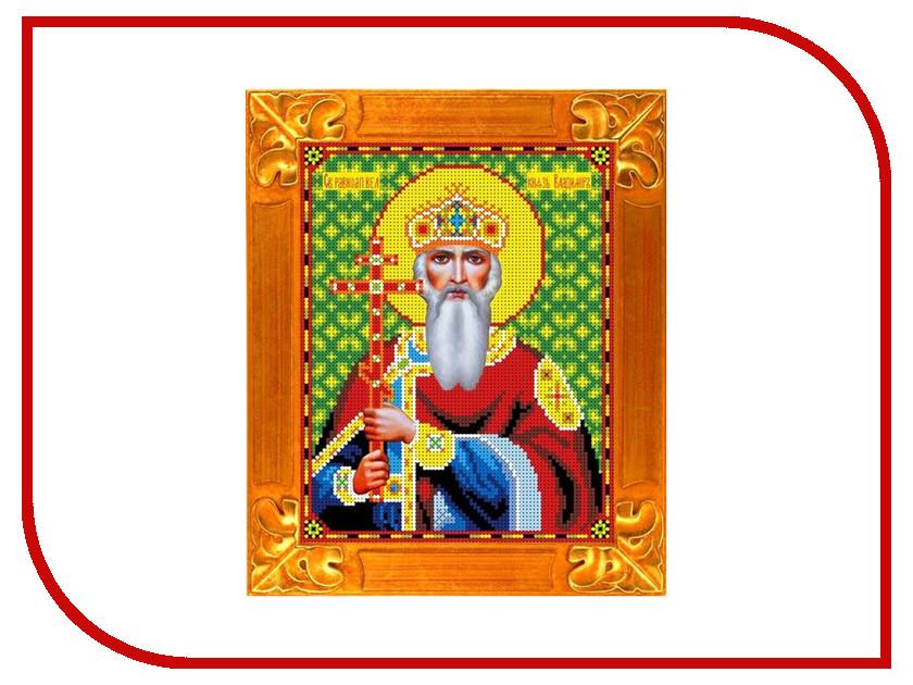 Набор для творчества Gluriya Св. Владимир с рисунком для бисера КБИ-4066<br>