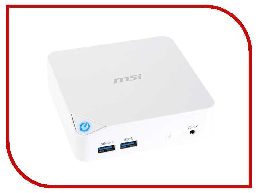 Неттоп MSI Cubi-228XRU 9S6-B09612-228 Intel Celeron 3215U 1.7 GHz/4096Mb/500Gb/Intel HD Graphics/WiFi/Bluetooth/DOS<br>