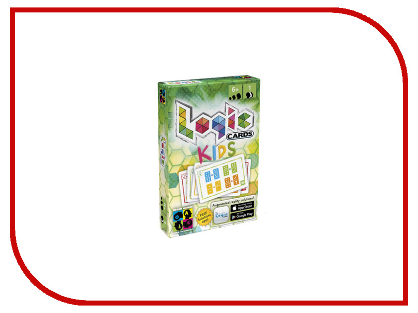 Настольная игра Brain Games Логические карточки для детей<br>