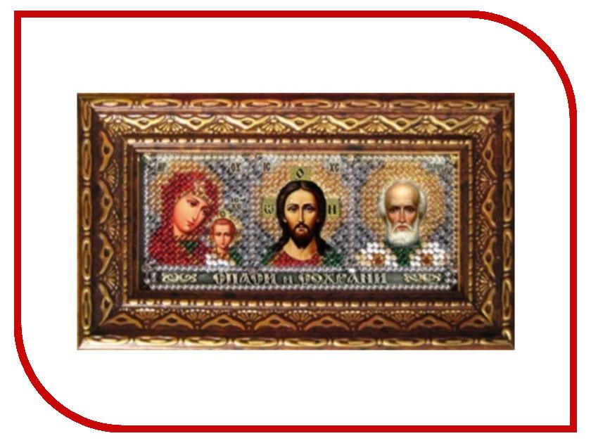 Набор для творчества Вышивальная мозаика Мини-Иконостас Триптих 173ПИ