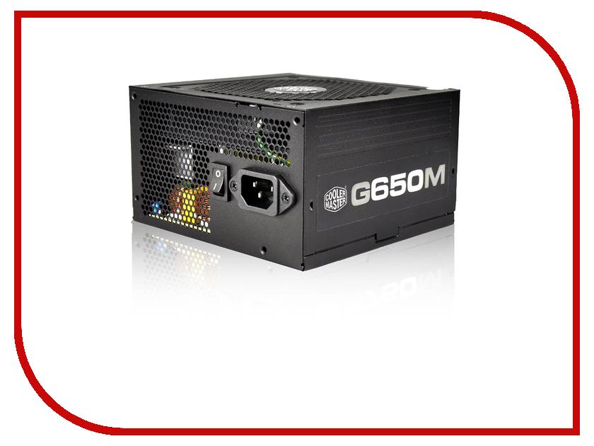 Блок питания Cooler Master G650M 650W RS650-AMAAB1-EU блок питания cooler master gm 750 750w rs750 amaab1 eu