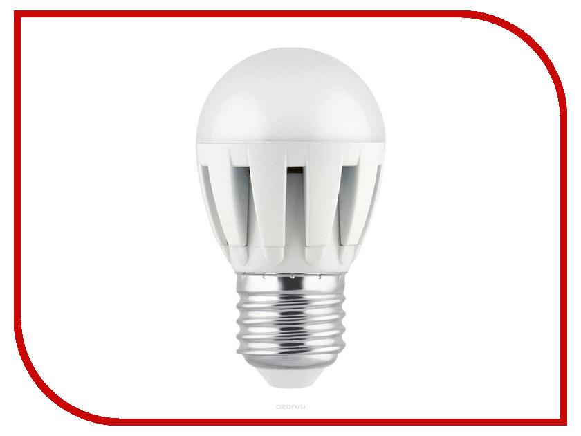 Лампочка Camelion G45 5.5W 220V E27 4500K 505 Lm LED5.5-G45/845/E27<br>