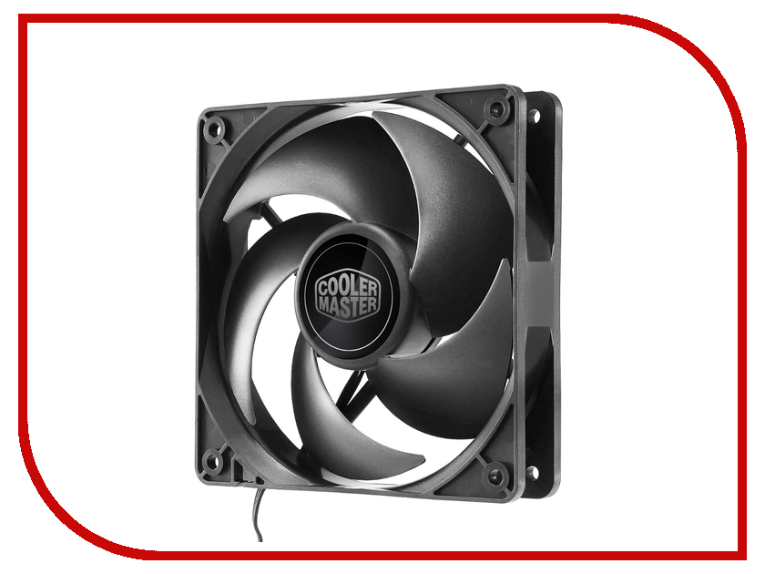 Вентилятор Cooler Master Silencio FP 120 R4-SFNL-12FK-R1 сушка для овощей vitek vt 5053 w