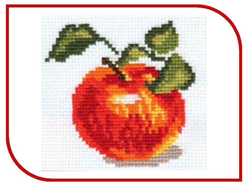 Набор для творчества АЛИСА Яблочко для вышивания 0-49