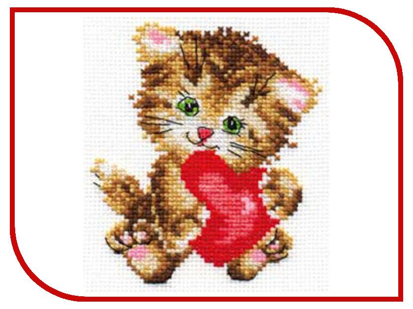 Набор для творчества АЛИСА Любимая киска для вышивания 0-61<br>