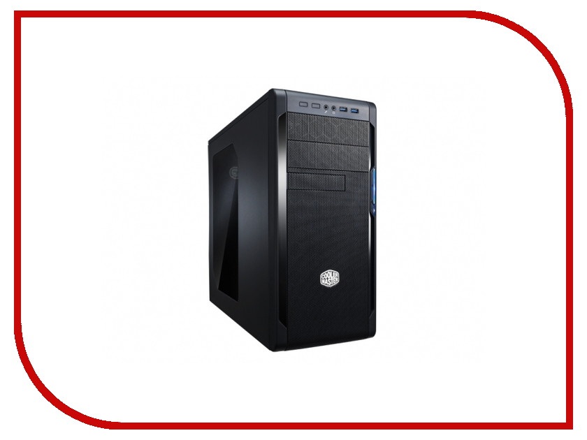 Корпус Cooler Master N300 NSE-300-KWN1 Black cooler master корпус miditower atx w o psu sgc 1000 kwn1 cooler master не указан