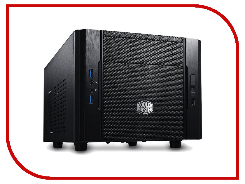 Корпус Cooler Master Elite 130 RC-130-KKN1 корпус системного блока coolermaster k280 rc k280 kkn1 w o psu black rc k280 kkn1