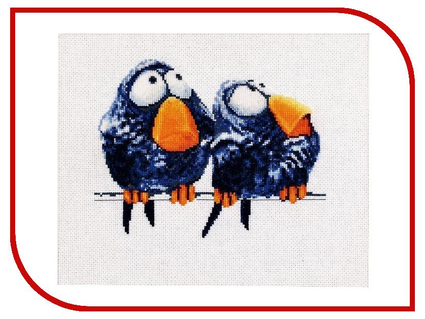 Набор для творчества Alisena Про птичек для вышивания 1018