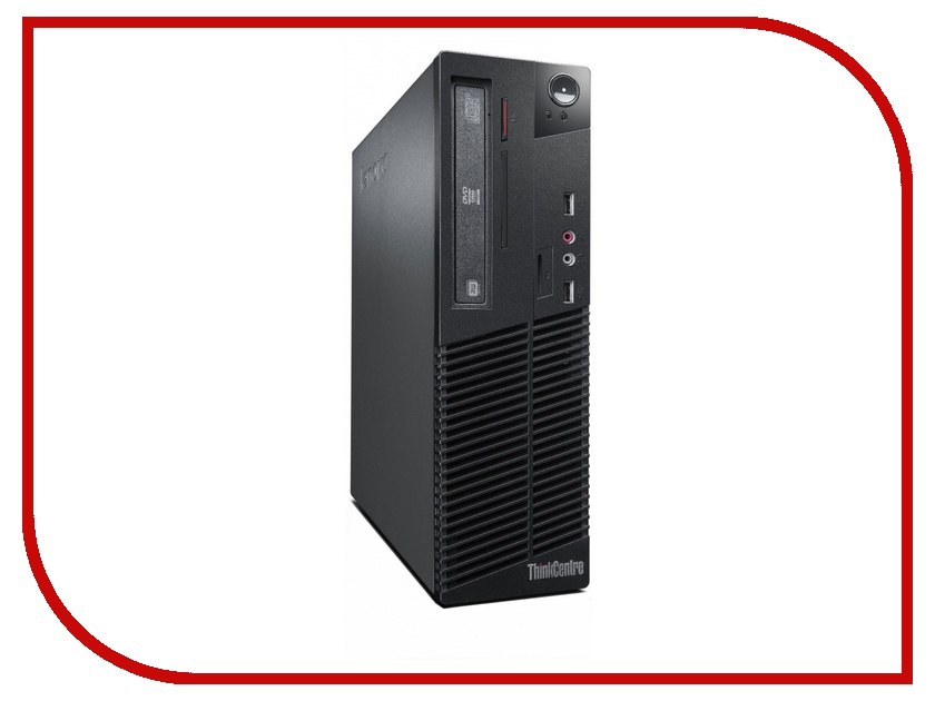 Неттоп Lenovo ThinkCentre M73e SFF 10B6002PRU Black (Intel Core i5-4460 3.4 Ghz/4096Mb/500Gb/DVD-RW/Intel HD Graphics 4400/Windows 7 Professional + Windows 8 Professional)