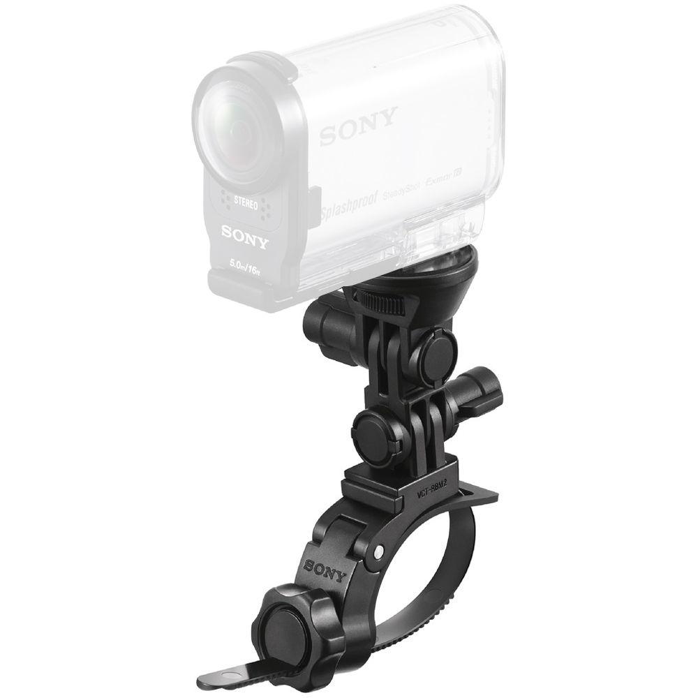 лучшая цена Аксессуар Крепление на трубу/раму Sony VCT-RBM2 для Action Cam
