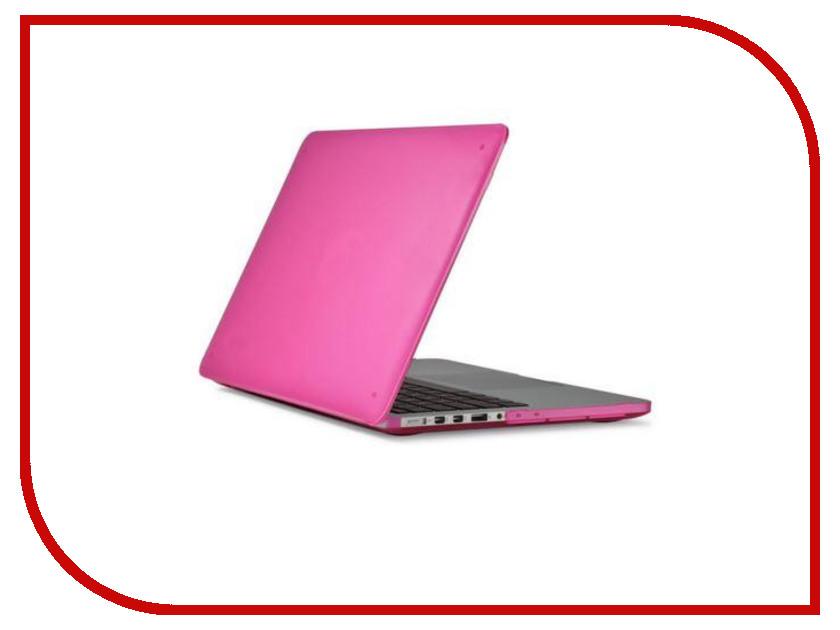 Аксессуар Чехол MacBook Pro Retina 13 Speck SeeThru Pink 71576-B198