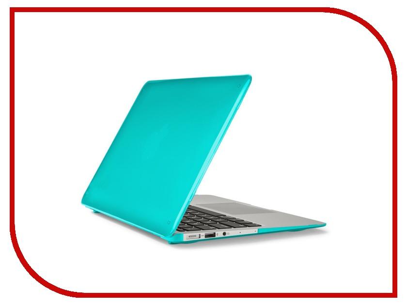 Аксессуар Чехол MacBook Air 11 Speck SeeThru Blue 71453-B189