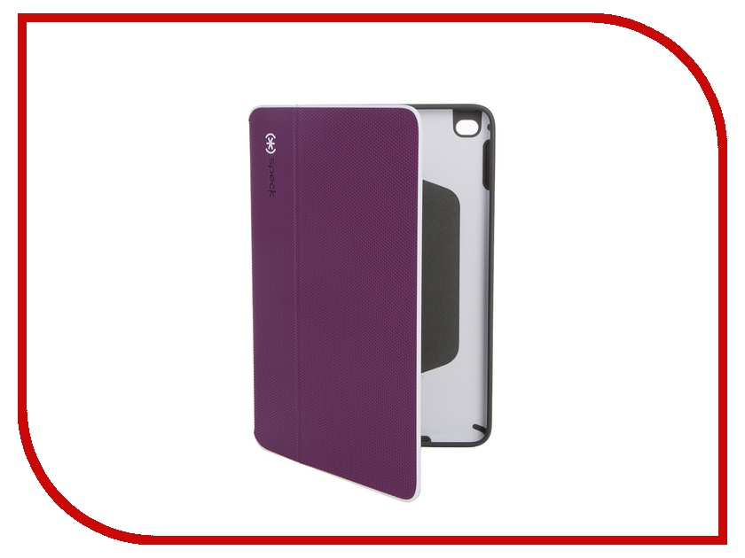 Аксессуар Чехол Speck StyleFolio для iPad Mini 4 Slate Acai PurPle-White-Slate Grey 73884-5075
