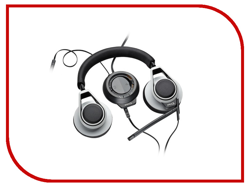 Гарнитура Plantronics RIG System Black-White