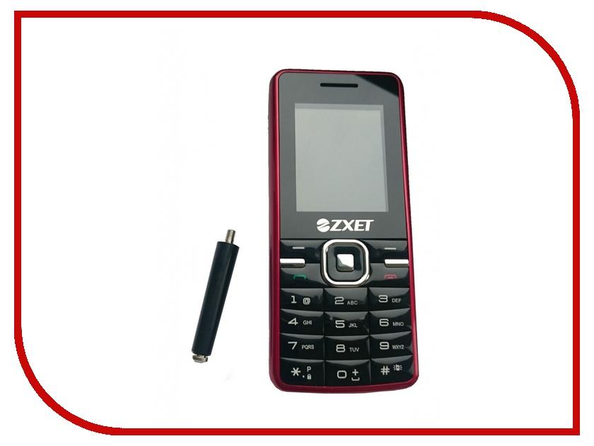 Сотовый телефон Zxet 450 CDMA Black-Red<br>