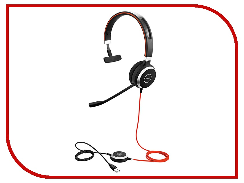 Гарнитура Jabra Evolve 40 MS Mono<br>