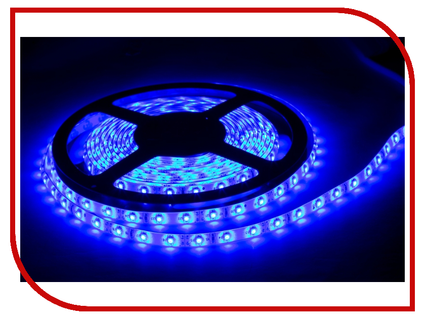 Светодиодная лента Camelion SLW-3528-60-C06 5m IP65 Blue