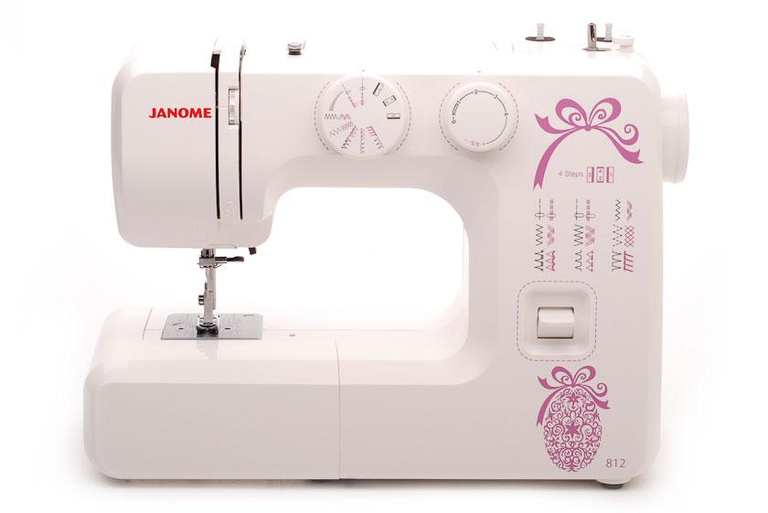 Швейная машинка Janome 812 машинка швейная janome 2141