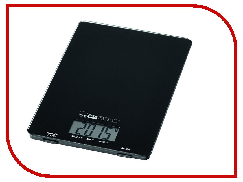 Весы Clatronic KW 3626 мини печь clatronic mbg 3521