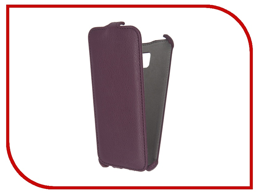 Аксессуар Чехол Samsung Galaxy S7 Edge Activ Flip Case Leather Violet 57980<br>