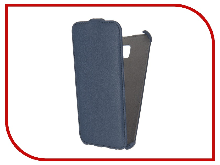 Аксессуар Чехол Samsung Galaxy S7 Edge Activ Flip Case Leather Blue 57551<br>