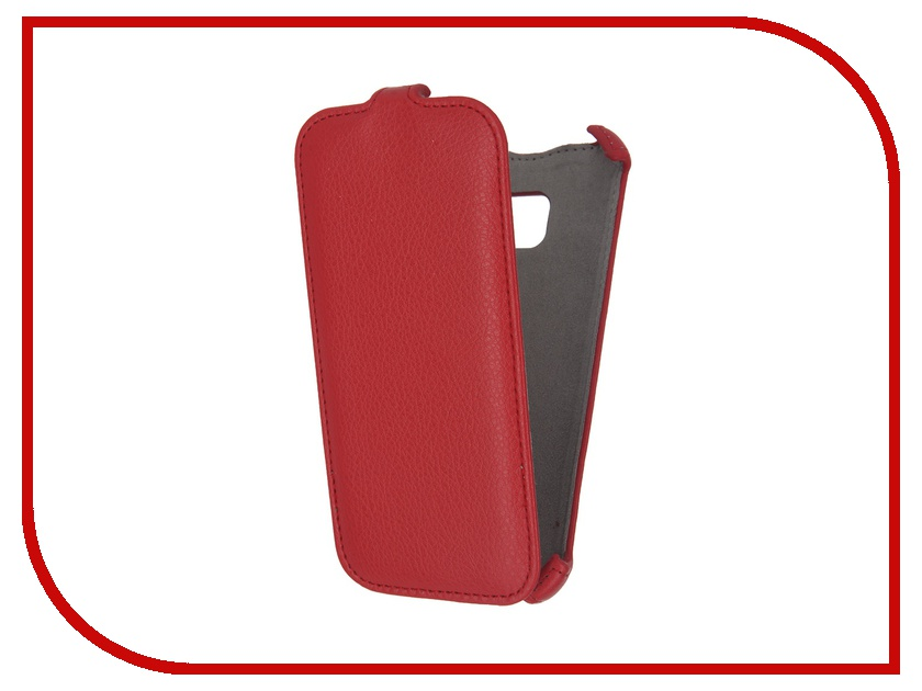Аксессуар Чехол Samsung Galaxy S7 Activ Flip Case Leather Red 57549<br>