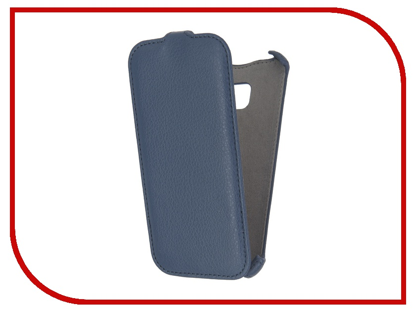 Аксессуар Чехол Samsung Galaxy S7 Activ Flip Case Leather Blue 57548<br>