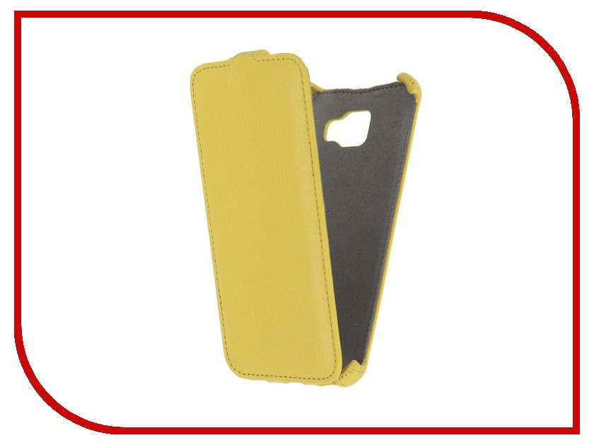 цена на Аксессуар Чехол Samsung Galaxy A7 2016 Activ Flip Case Leather Yellow 57541