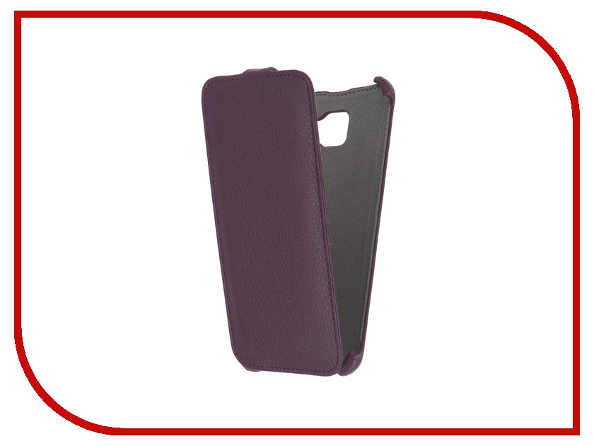 цена на Аксессуар Чехол Samsung Galaxy A7 2016 Activ Flip Case Leather Violet 57539