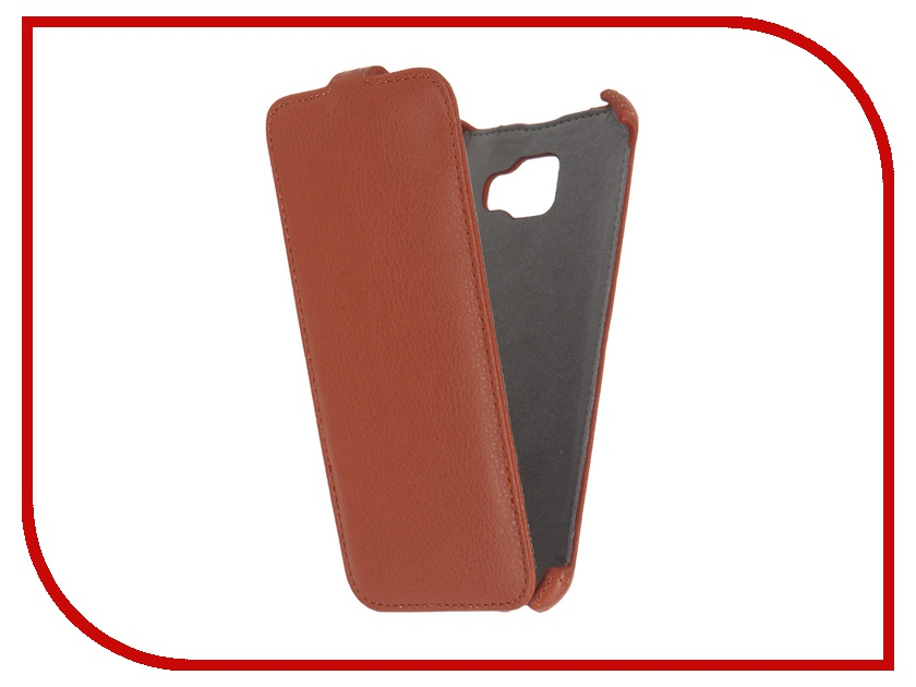Аксессуар Чехол Samsung Galaxy A7 2016 Activ Flip Case Leather Orange 57537<br>