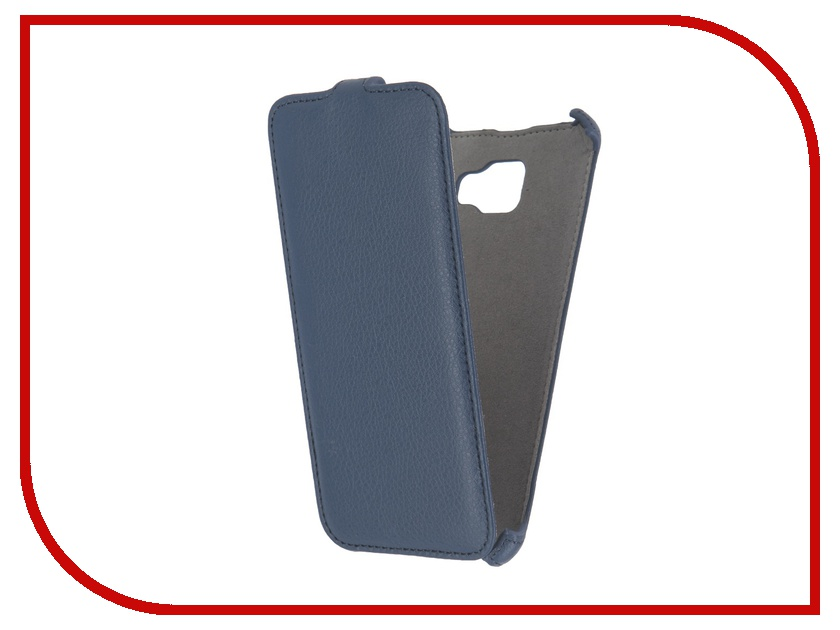 Аксессуар Чехол Samsung Galaxy A7 2016 Activ Flip Case Leather Blue 57536<br>