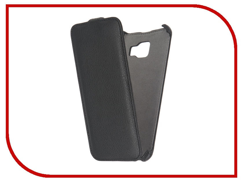 Аксессуар Чехол Samsung Galaxy A7 2016 Activ Flip Case Leather Black 57378<br>