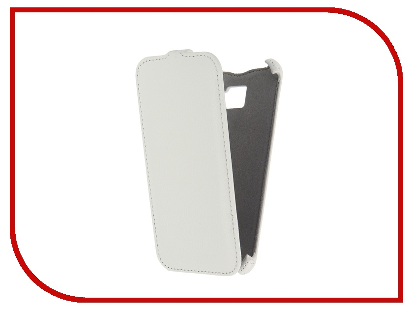 Аксессуар Чехол Samsung Galaxy A5 2016 Activ Flip Case Leather White 57534<br>