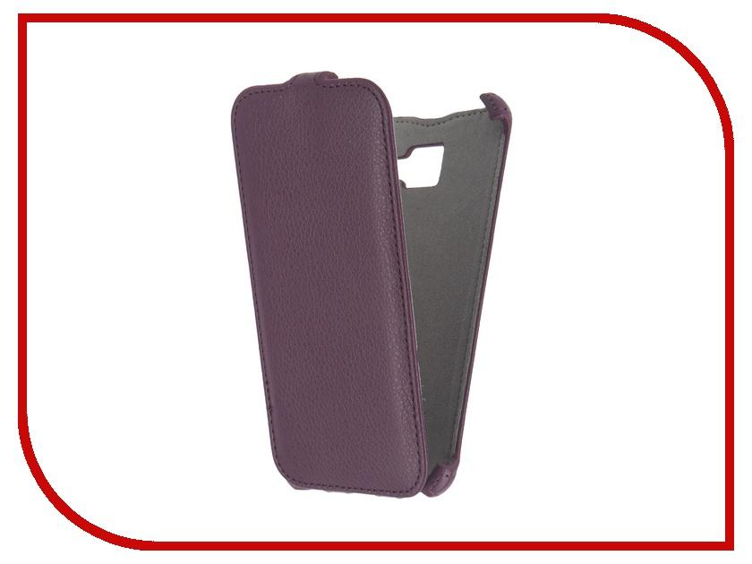 Аксессуар Чехол Samsung Galaxy A5 2016 Activ Flip Case Leather Violet 57533<br>