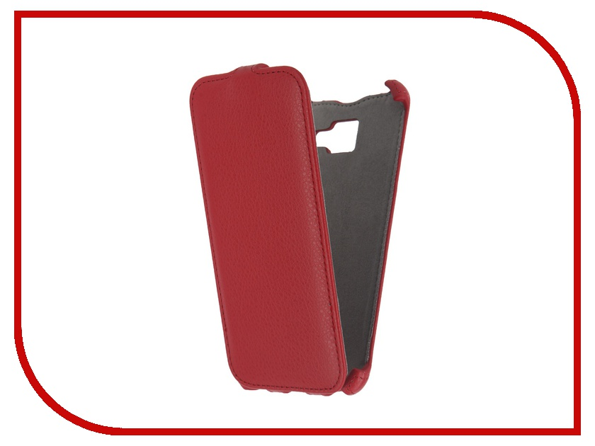 Аксессуар Чехол Samsung Galaxy A5 2016 Activ Flip Case Leather Red 57532<br>
