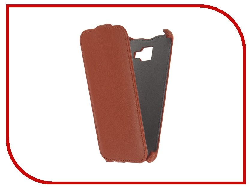 Аксессуар Чехол Samsung Galaxy A5 2016 Activ Flip Case Leather Orange 57531