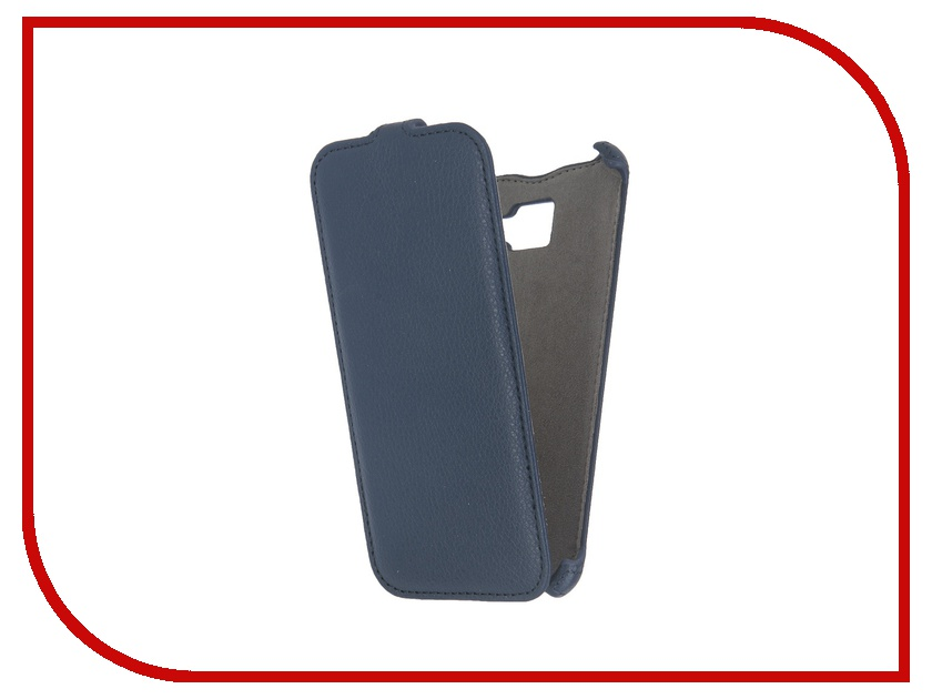 Аксессуар Чехол Samsung Galaxy A5 2016 Activ Flip Case Leather Blue 57530
