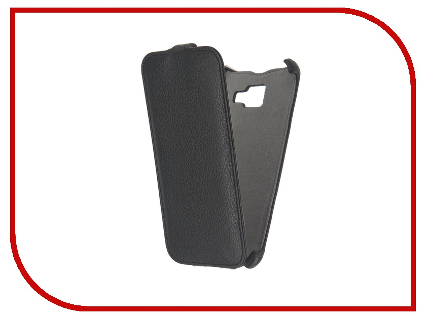 Аксессуар Чехол Samsung Galaxy A5 2016 Activ Flip Case Leather Black 57377