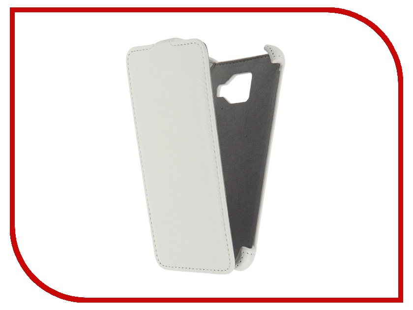 Аксессуар Чехол Samsung Galaxy A3 2016 Activ Flip Case Leather White 57528<br>