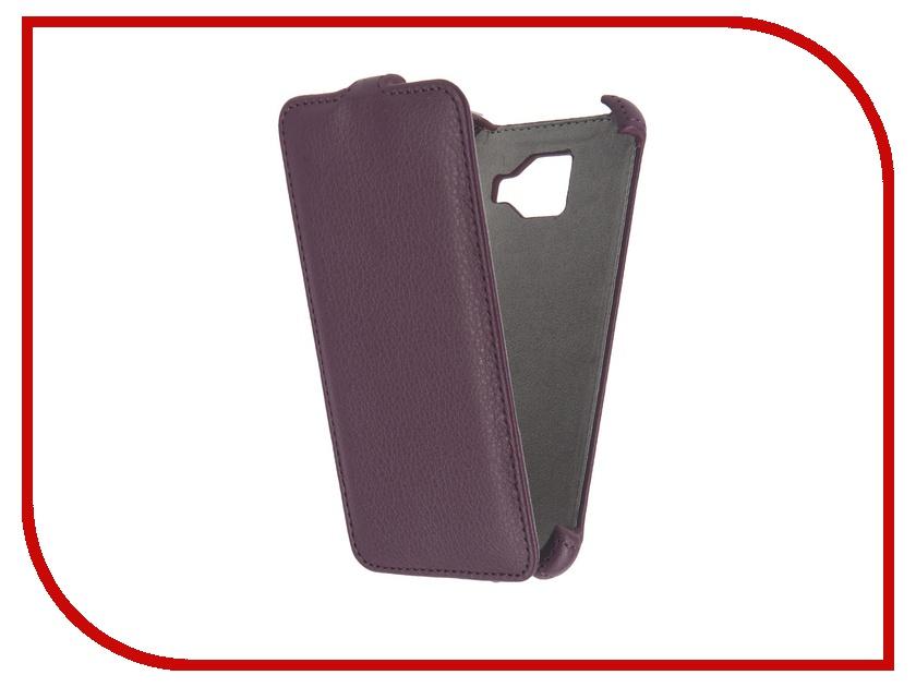 Аксессуар Чехол Samsung Galaxy A3 2016 Activ Flip Case Leather Violet 57527<br>