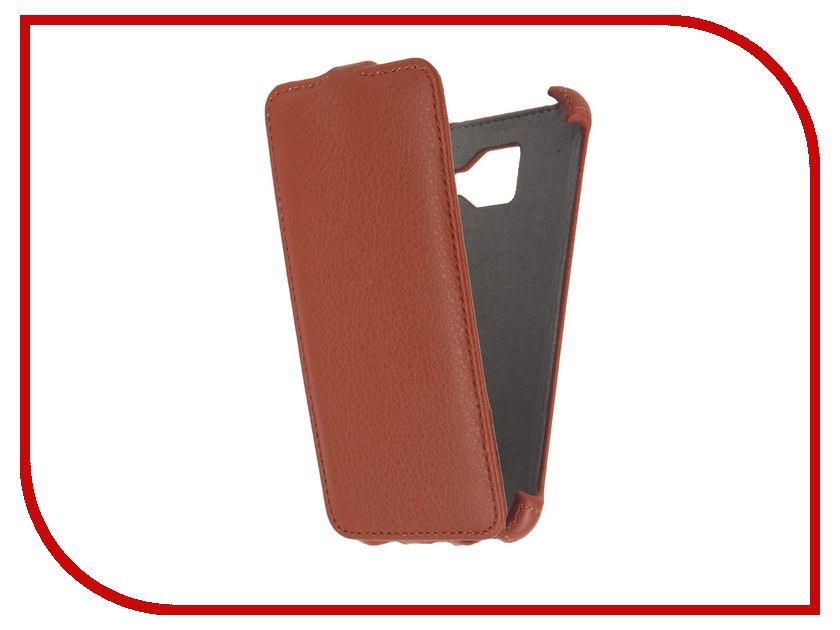 Аксессуар Чехол Samsung Galaxy A3 2016 Activ Flip Case Leather Orange 57525<br>