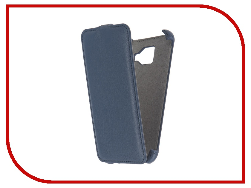 ��������� ����� Samsung Galaxy A3 2016 Activ Flip Case Leather Blue 57524